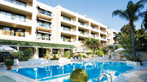 Rodos Park Suites & Spa Hotel - garanterat barnfritt.
