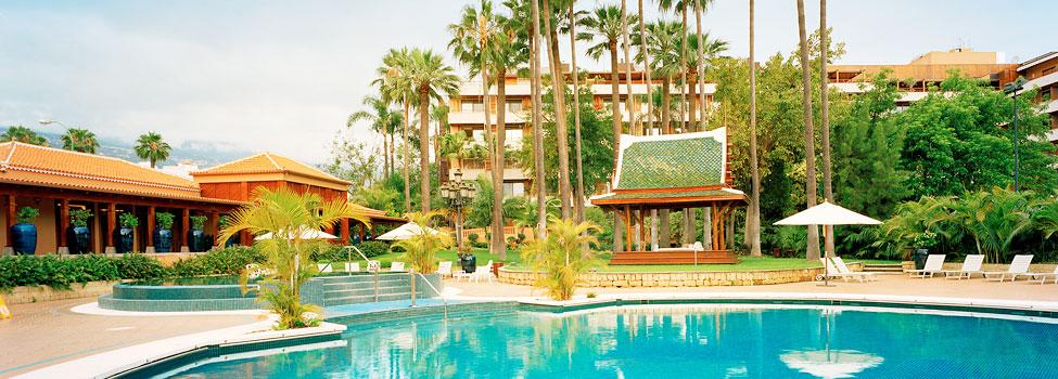 Hotel Botanico, Puerto de la Cruz, Teneriffa, Kanarieöarna