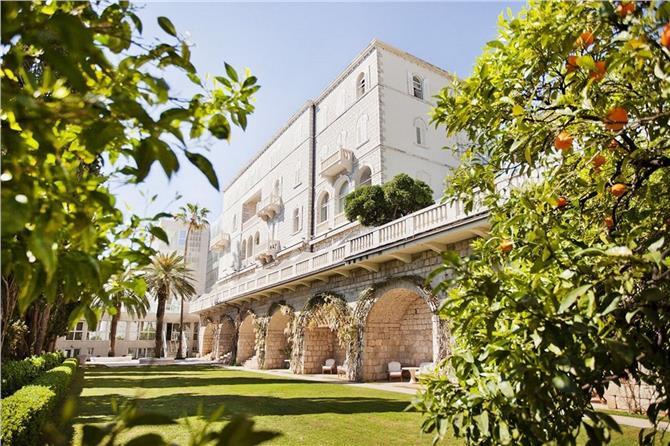 boka hotell grand villa argentina i dubrovnik noga