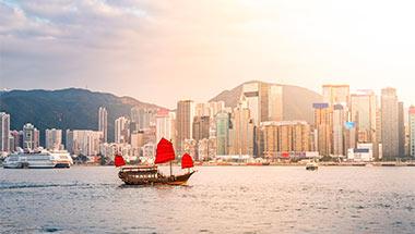 Hong Kong, Kina