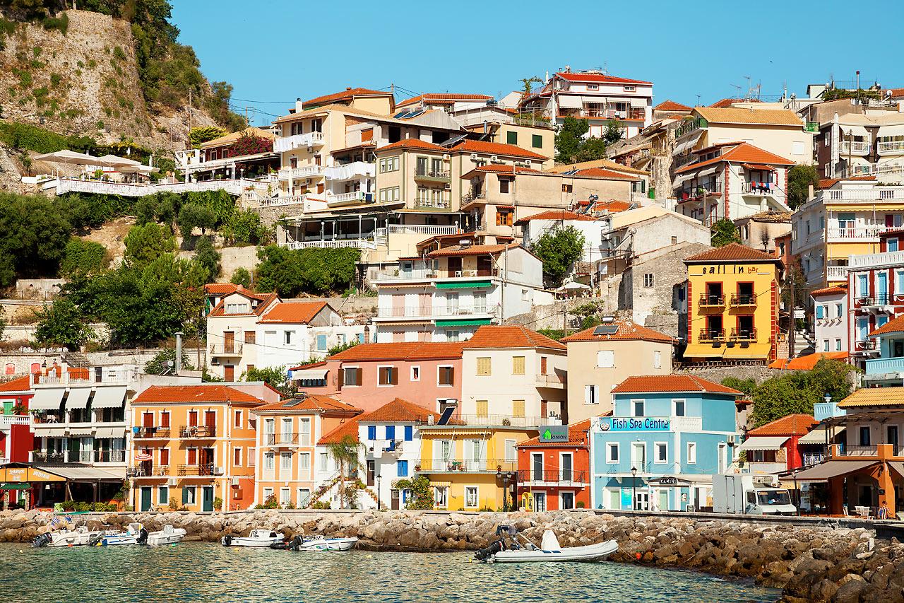 Resor till parga grekland