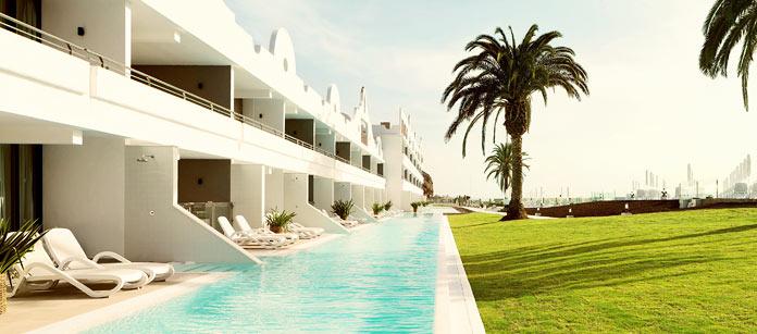 Vår idé om rum, Ocean Beach Club – Gran Canaria