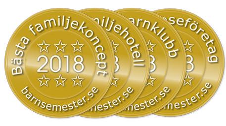 Stora Barnsemesterpriset 2018