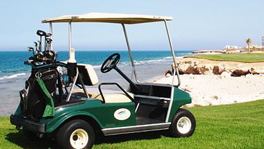 Spela golf i Egypten