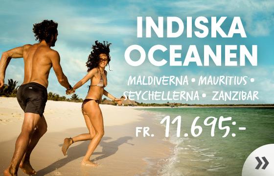 Lyx i Indiska Oceanen!
