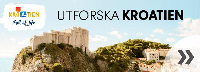 Utforska Kroatien