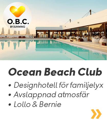 Ocean Beach Club - Ett modernt familjehotell