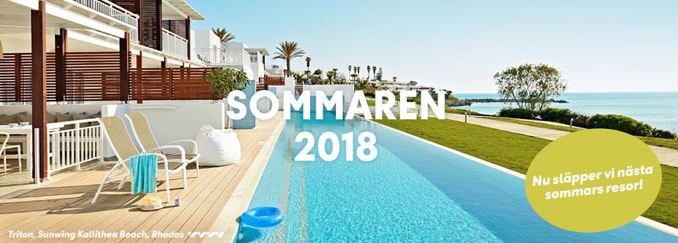 Sommarresor 2018
