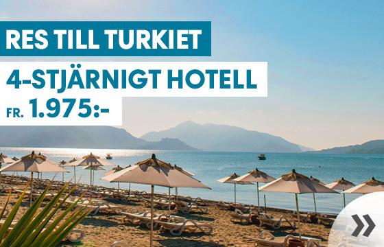 Upptäck Turkiet i sommar