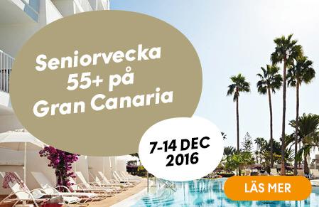 Seniorvecka 55+ på Gran Canaria