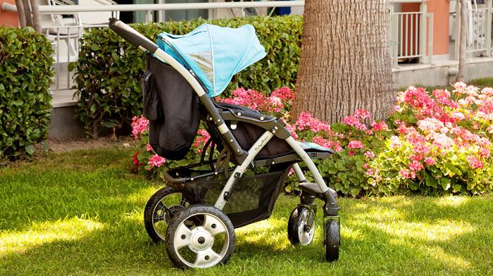 Hur gör jag med barnvagnen?